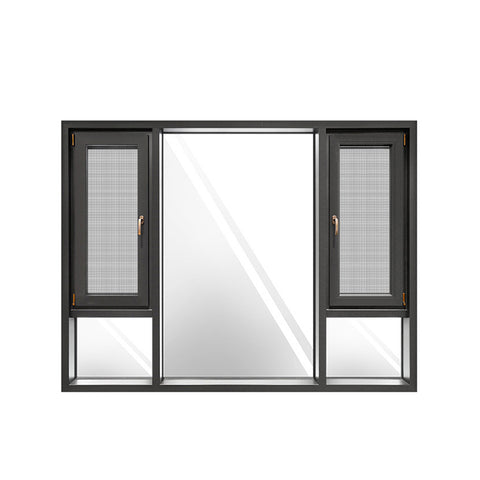 China WDMA Aluminum Window Price In Morocco