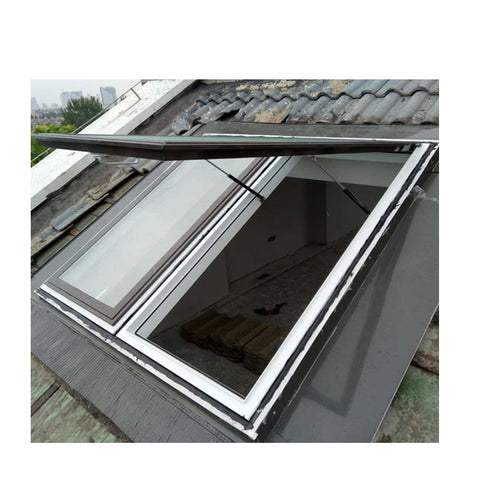 WDMA Aluminum Basement Skylight Round Roof Dome Window Systems Thermal Break 55x98 Price Manufacturer