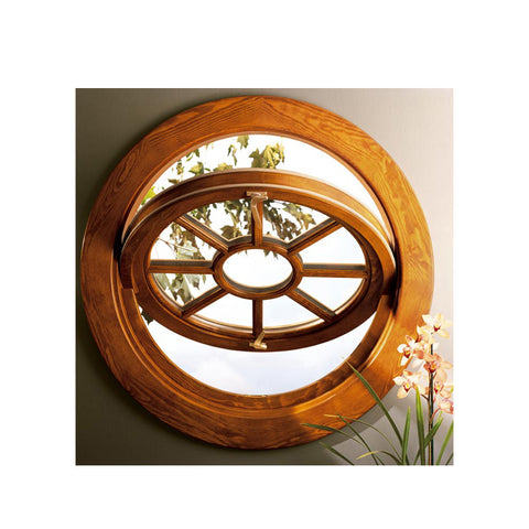 WDMA Aluminum Cladding Wood Window Pivoting Window Round Window Circle Window