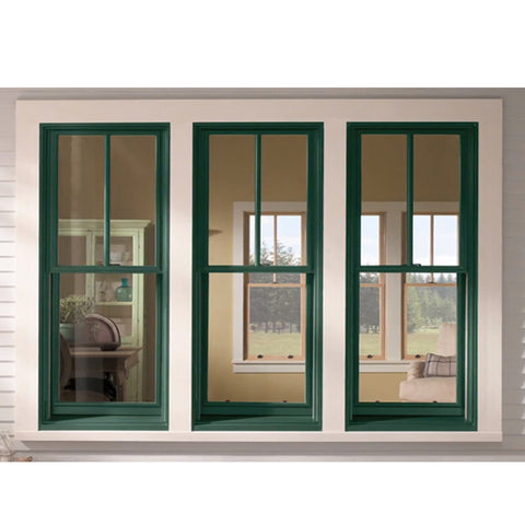 WDMA Aluminum Single Hung Sash Window Sliding Vertical Window On Sales