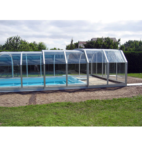 WDMA Aluminum Sun Room For Sliding Swimming Pool Cover Enclosures Waterproof