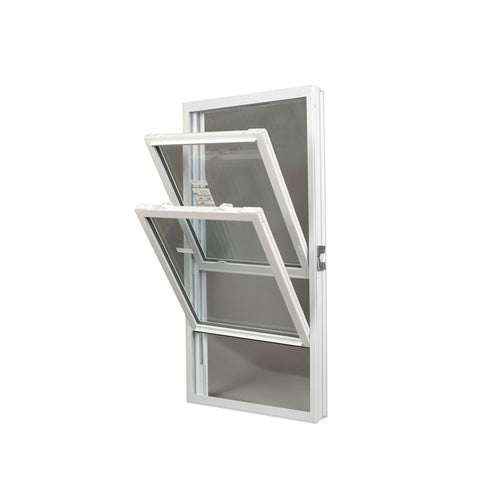 China WDMA aluminium vertical sliding window Aluminum double single hung Window
