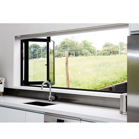 WDMA American Style Kitchen Folding Windows Aluminium