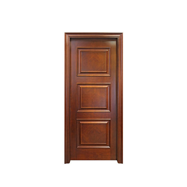 WDMA Apartment Pine Wooden Flush Doors Single Design House Wood Interior Room Door
