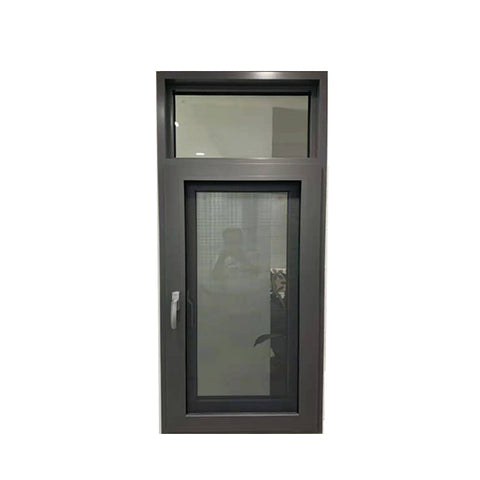 WDMA Apartment Window Arch Design Double Glass Aluminium French Bay Door Window Price