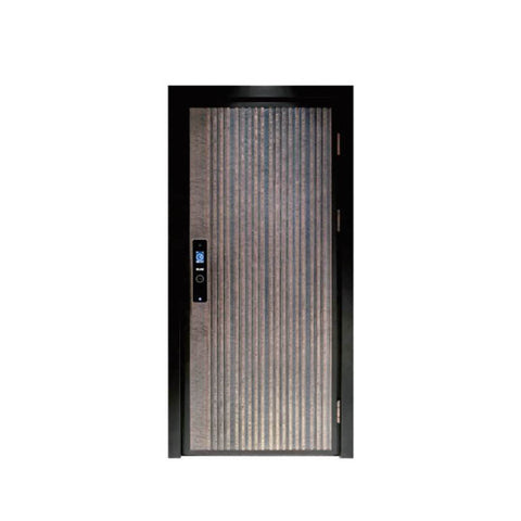 China WDMA aluminium external door Aluminum Casting Door