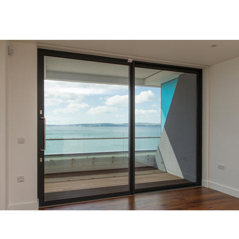 China WDMA Electric Sliding Glass Door