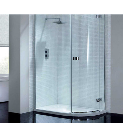 China WDMA curved glass shower door Shower door room cabin