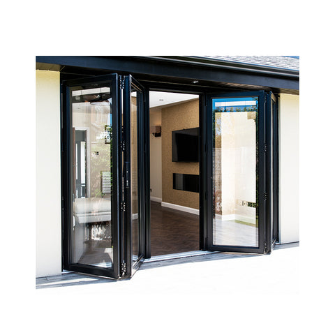 China WDMA bifold door Aluminum Folding Doors
