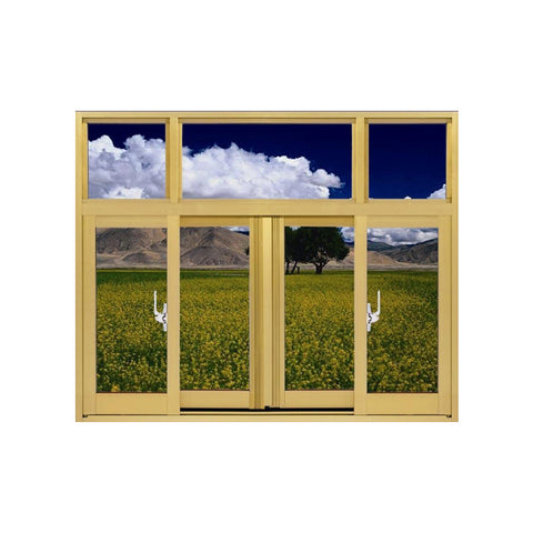 China WDMA Aluminum Hung Window