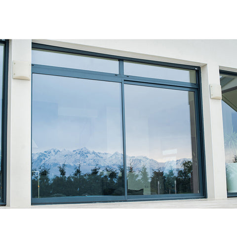 WDMA Bulletproof Metal Sliding Window For Tanzania Gambia