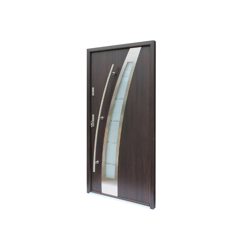 China WDMA Stainless Steel Front Door