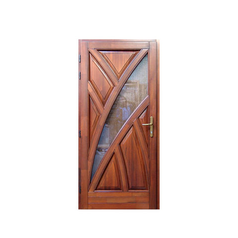 WDMA Burma Teak Wood Carving Simple Modern House Main Door Design