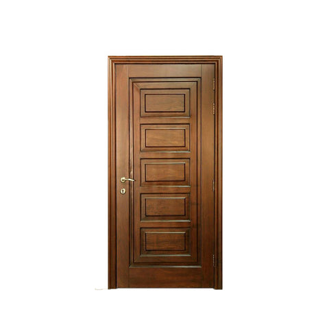 China WDMA exterior wooden doors Wooden doors