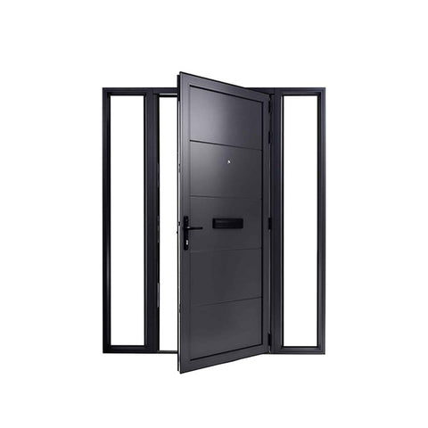 China WDMA cast aluminum door Aluminum Casting Door