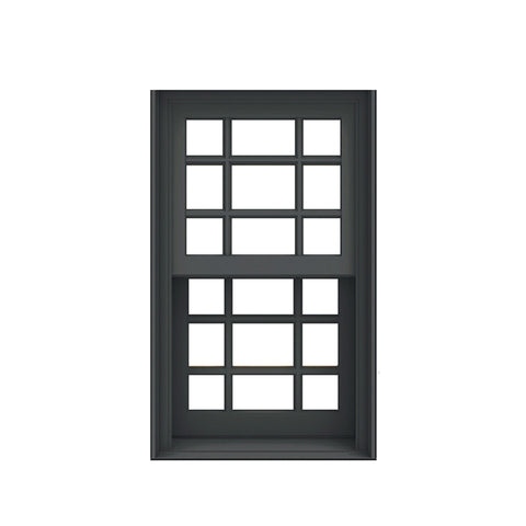 China WDMA vertical sliding window Aluminum double single hung Window