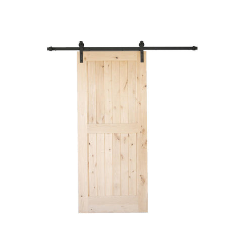 China WDMA sliding barn door Wooden doors