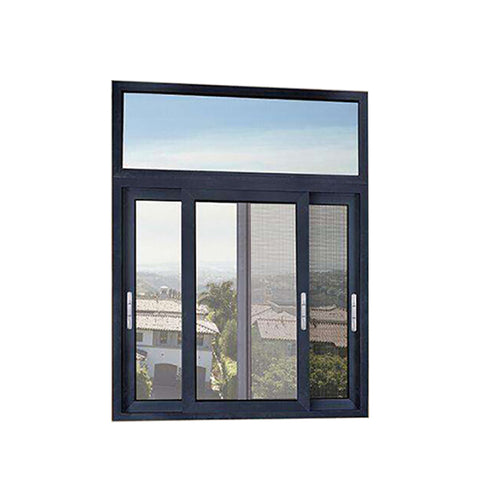 China WDMA 3 Tracks Aluminium Sliding Window