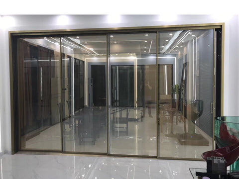 China WDMA Sliding Glass Barn Door Exterior