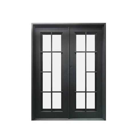 China WDMA wrought iron door iron entrance door