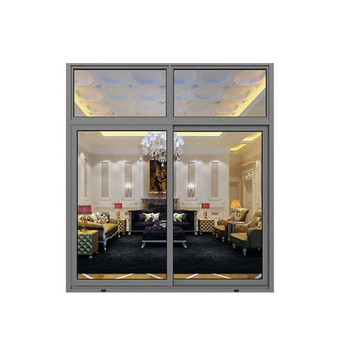 China WDMA bathroom sliding window Aluminum Sliding Window