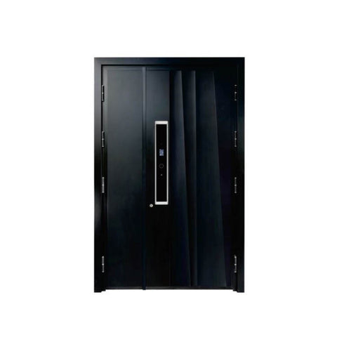 China WDMA aluminium entry door Aluminum Casting Door