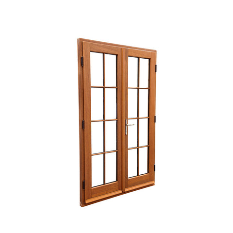 China WDMA wooden doors for villas Wooden doors