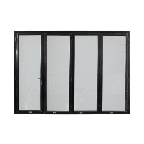 WDMA China Market Australia Standard Aluminum Glass Accordion Doors