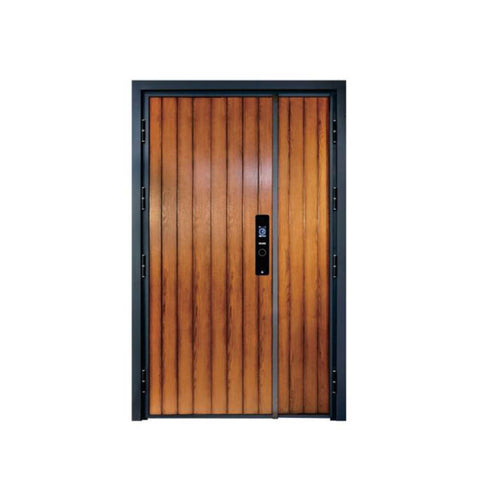 China WDMA cast aluminium door designs Aluminum Casting Door