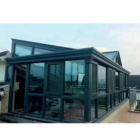 WDMA China Produced Conservatory Sunroom Roof Kit With Sliding Windows Factory Suppliers
