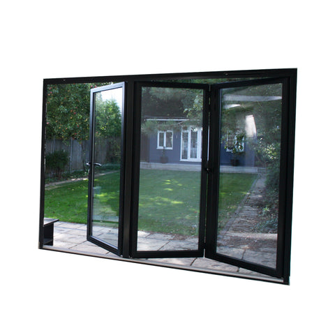 China WDMA terrace door accordion Aluminum Folding Doors