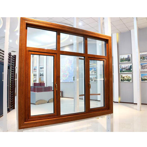 WDMA Custom Aluminium Aluminum Clad Wood Window Passive House Window