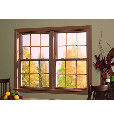 China WDMA Aluminum Clad Wood Window