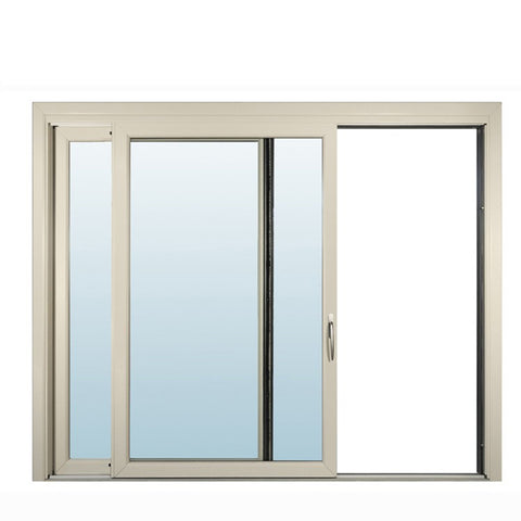 WDMA Custom White Aluminium Frame Glass Window Double Glazed Australia