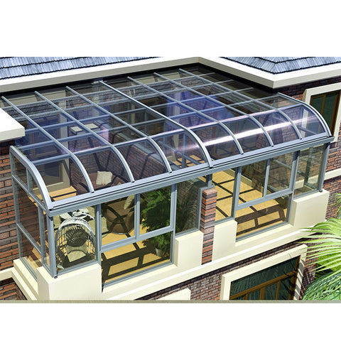 China WDMA Glass Sunroom Aluminum Sunroom