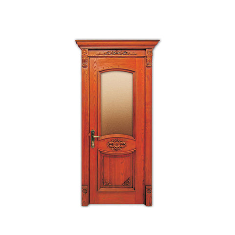 WDMA Customized Design Miami Interior Teak Wood Door Design
