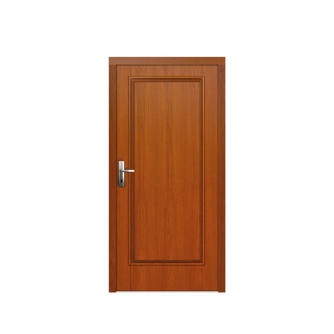 WDMA Davao City Latest Design Teak Wood Front Flush Door Design