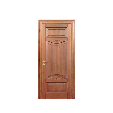 China WDMA teak wood front door design Wooden doors