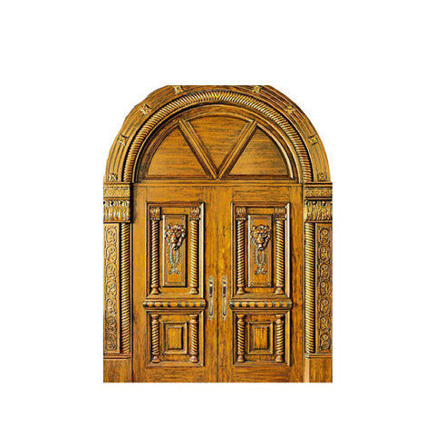 WDMA Double Wooden Main Entrance Swing Door Design Wooden Door Turkey