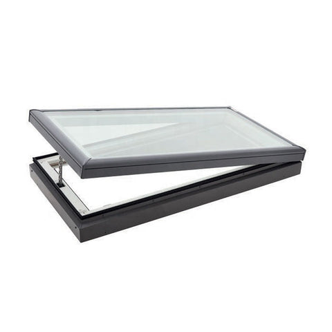 WDMA Electric Motorized Aluminium louver Motor Skylight Roof Window Wth louver Design For House