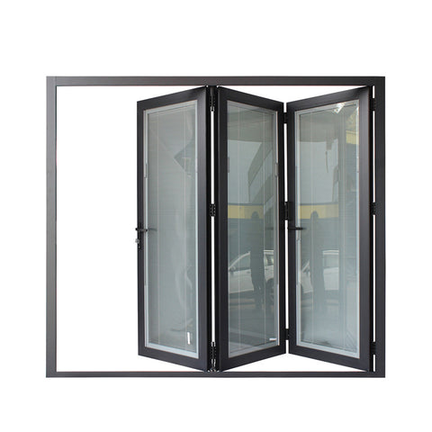 WDMA Electronic Component Transistor New Bi-folding Doors Multi-track Sliding Door Metal Louver