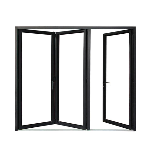 China WDMA new bi-folding doors Aluminum Folding Doors