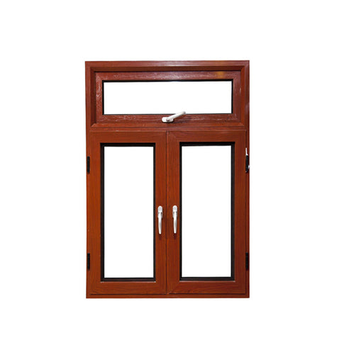 WDMA European And America Standard White Aluminum Profile Solid Aluminum Wood Window Design