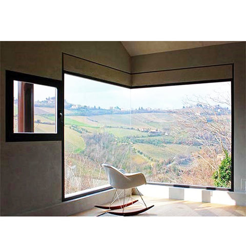 WDMA European Profile Aluminum Single Glazed Fixed Window