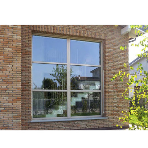 China WDMA single glazed window Aluminum Fixed Window