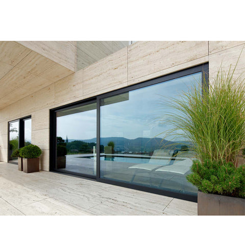 China WDMA corner sliding door Aluminum Sliding Doors