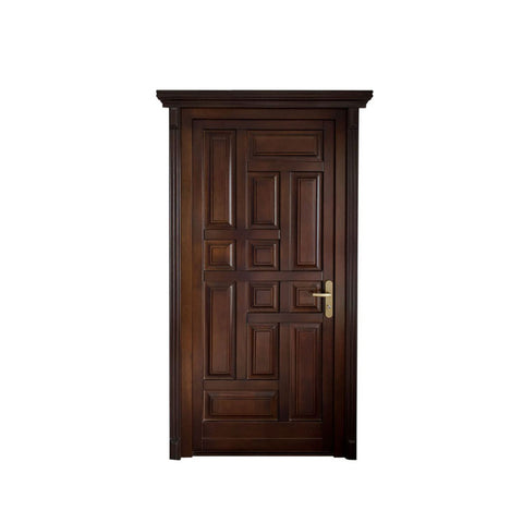 China WDMA exterior door Wooden doors