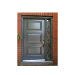 China WDMA Exterior Entrance Doors Residential Stainless Steel Modern Security Doors