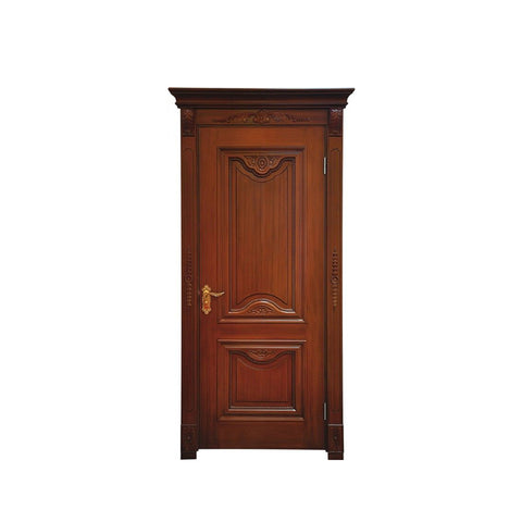 China WDMA mahogany hollow core wood door Wooden doors