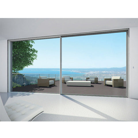 China WDMA slim frame aluminium sliding door Aluminum Sliding Doors